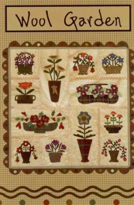 Wool Garden (large size)  12 Month Kit <br> By Waltzing With Bears