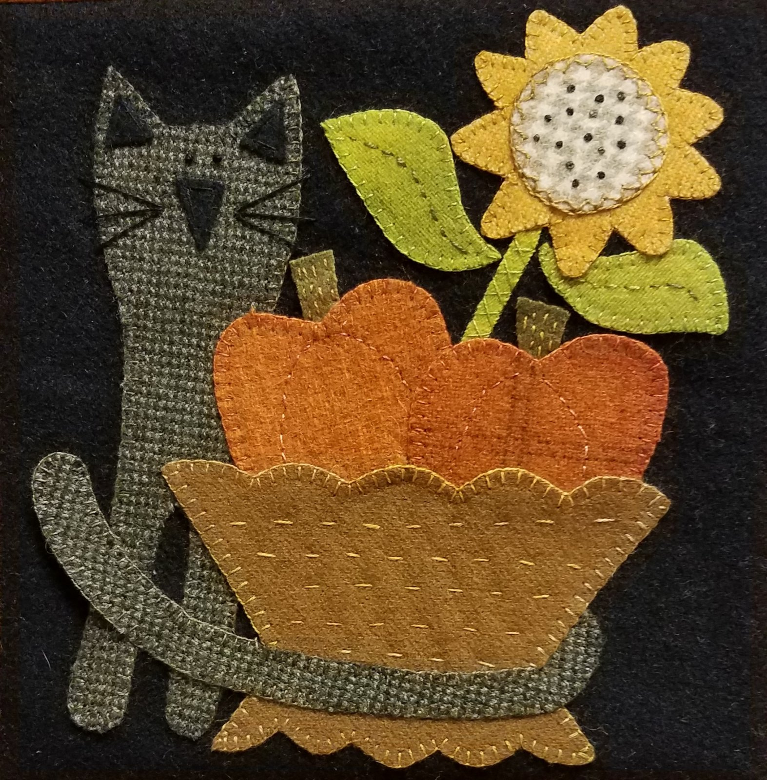 2017 Wooly Block Adventure <br>Harvest Basket Pattern