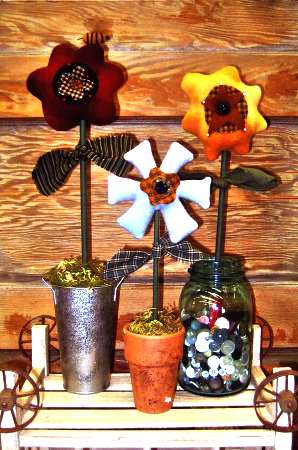 Pincushion Posies   <br> By Waltzing With Bears