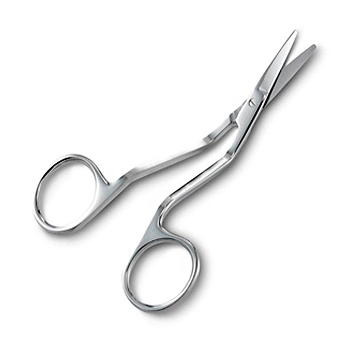 Havel's Sewing- 4 Small double curved lace trimming scissors