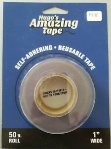 Hugo's Amazing Tape- Self Adhering- Reusable Tape