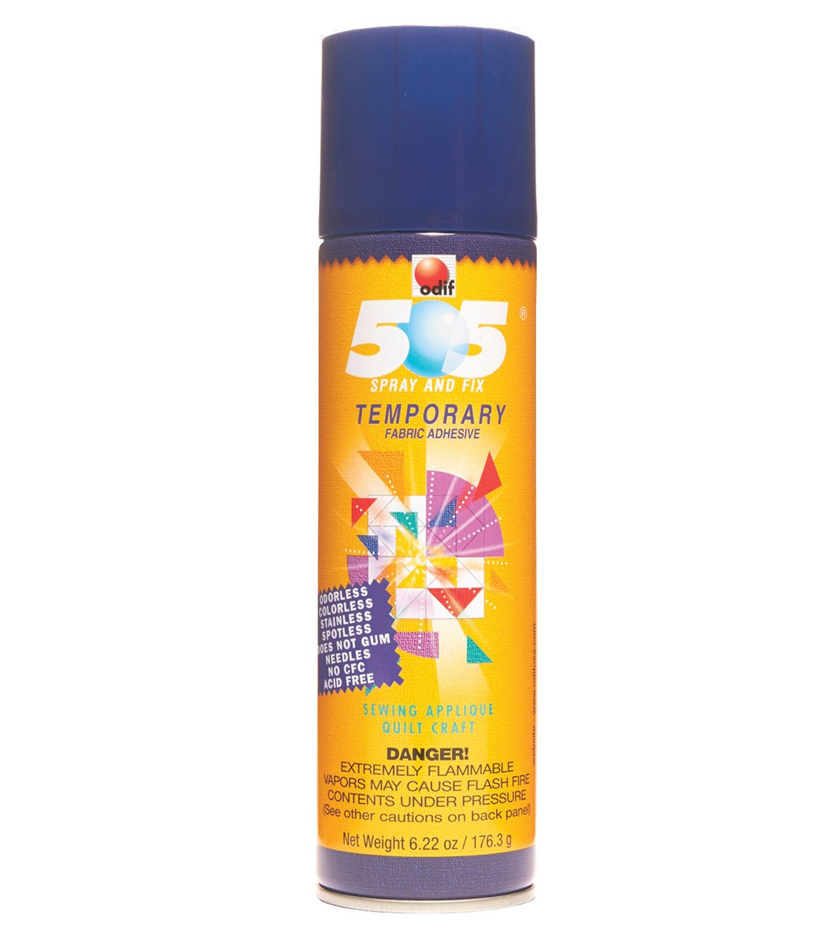 505 Temporary Adhesive for fabric 6.22 OZ