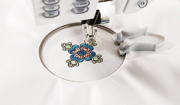 Mini Embroidery Spring Hoop