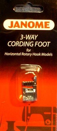 3-Way Cording Foot