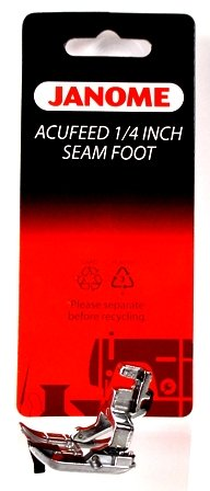 Acufeed 1/4 inch seam foot