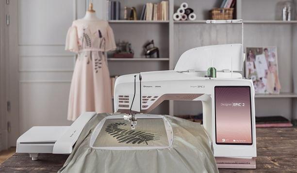 Husqvarna Viking Designer Epic 2 Embroidery and Sewing Machine