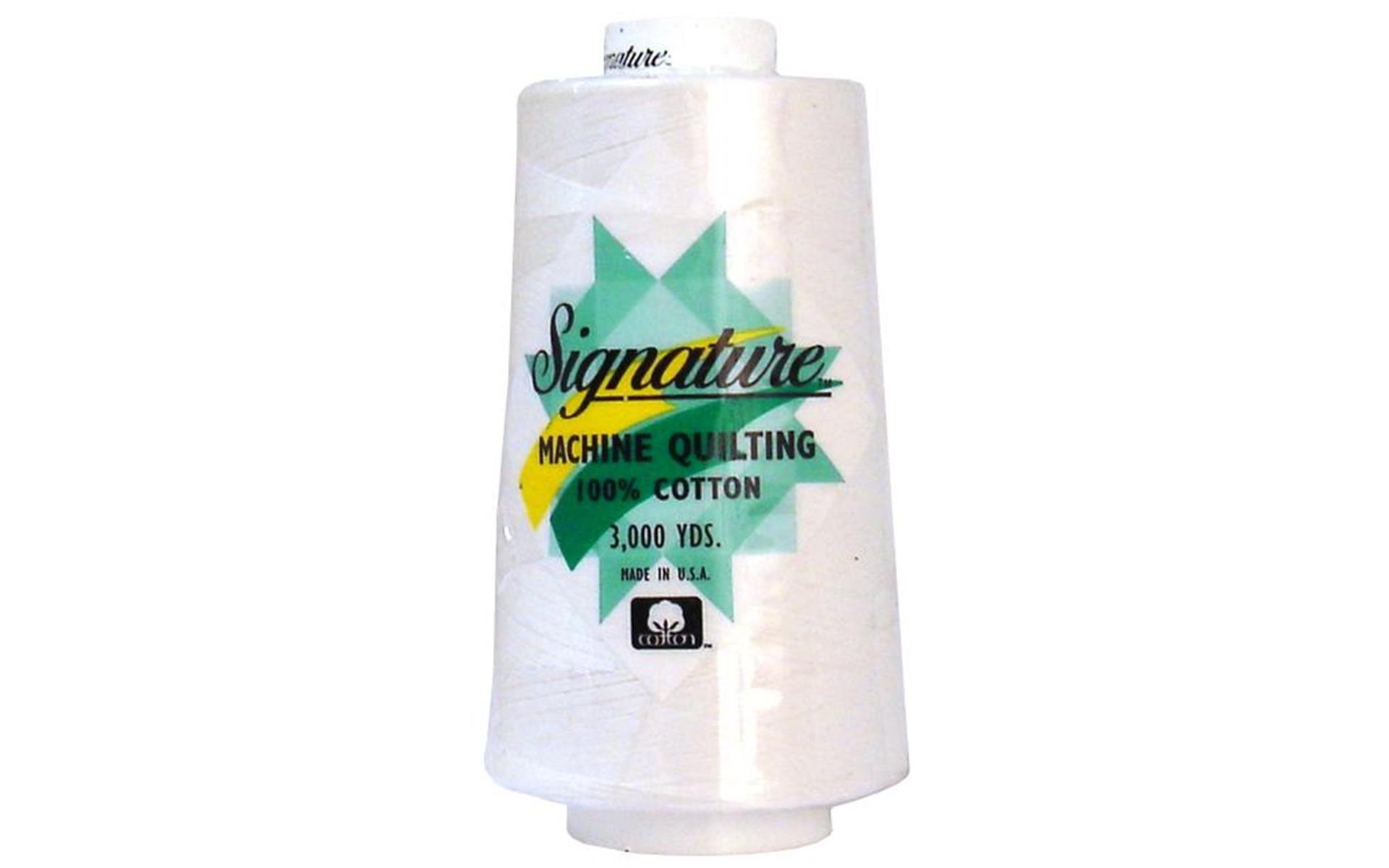 Signature Cotton Quilting Thread 3000yds