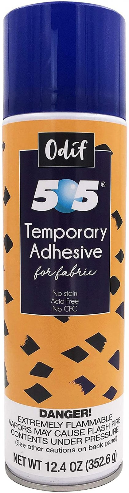 505 Temporary Adhesive for fabric- 12.4 OZ