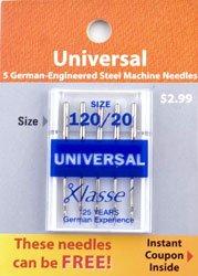 Universal Needle 120/20