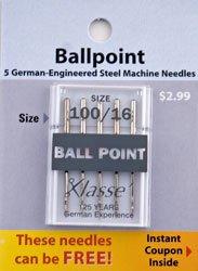 Ballpoint 100/16