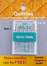 Quilting Needles 80/12