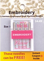 Embroidery Needles 75/11
