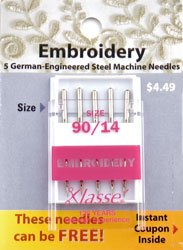 Embroidery Needles 90/14