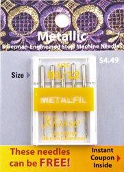 Metallic Needle 80/12