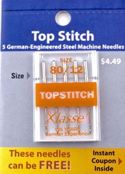 Topstitching Needle  80/12