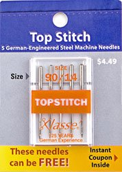 Topstitching Needle  90/14