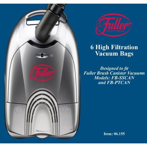 6-Pack Micro Filter Vacuum Bags