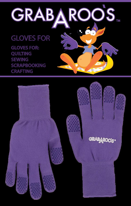 GRABAROO'S Quilter's Gloves