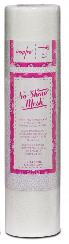 "No Show Mesh 12"" x 12 yards"