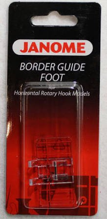 Janome Border Guide Foot for Horizontal Rotary Hook models