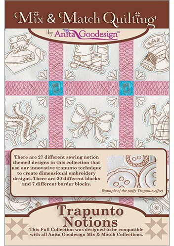 Trapunto Notions/Full Mix & Match Quilting Collection