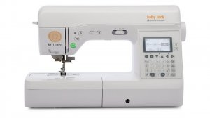 Baby Lock Brilliant Quilting & Sewing Machine
