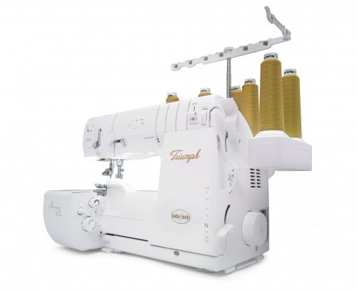 Baby Lock Triumph serger and cover stitch machine
