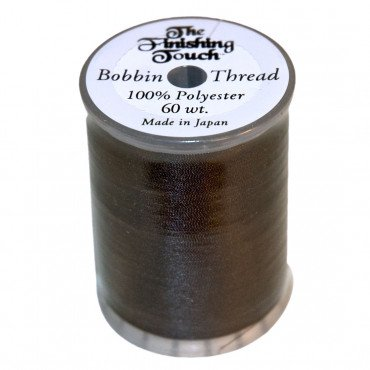FINISHING TOUCH 60WT BOBBIN THREAD BLACK