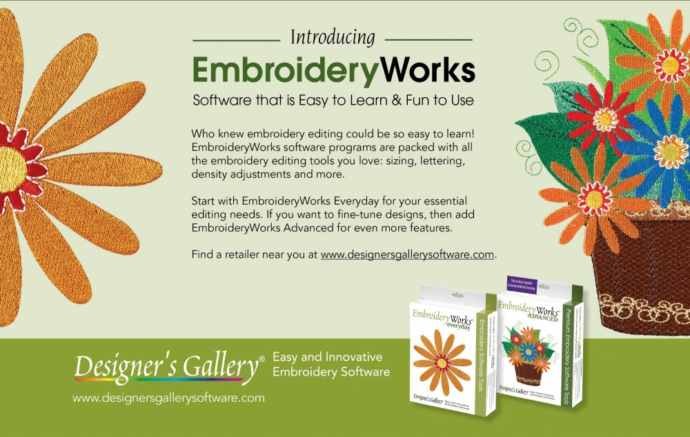 Designer S Gallery Embroidery Software And Designs Wilmington North Carolina