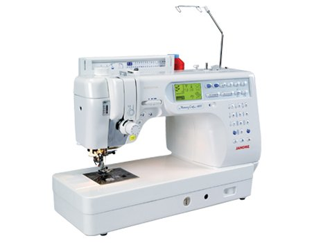 Janome MC-6600 Pre-Owned Sewing & Quilting Machine