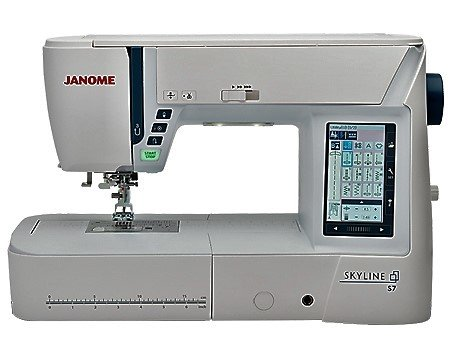 Janome Skyline S7 Quilting & Sewing Machine