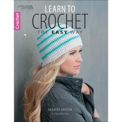 Learn To Crochet The Easy Way by Jean Leinhauser