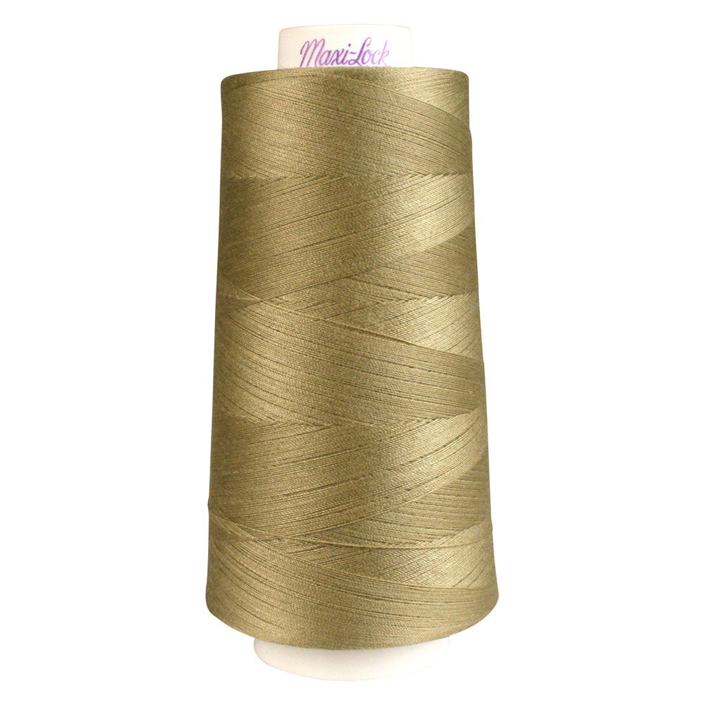 Maxi- Lock Thread #32365 Khaki