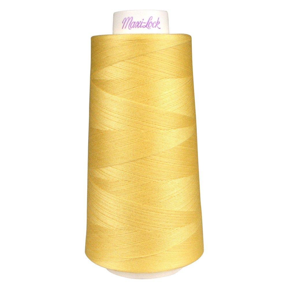 Maxi- Lock Thread #43402 Sunlight Yellow