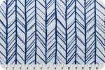 Shannon Fabrics Herringbone Double Gauze- Royal
