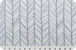 Shannon Fabrics Herringbone Double Gauze- Steel
