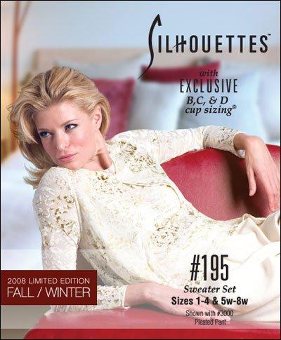 Silhoettes  Patterns #195 Sweater Set