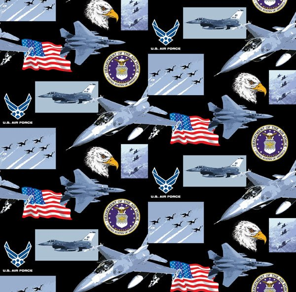 Military Prints from Sykel- 021-AF Air Force
