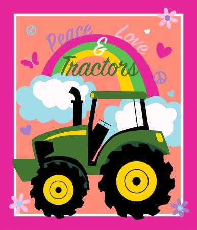 Peace Love and Tractors Panel