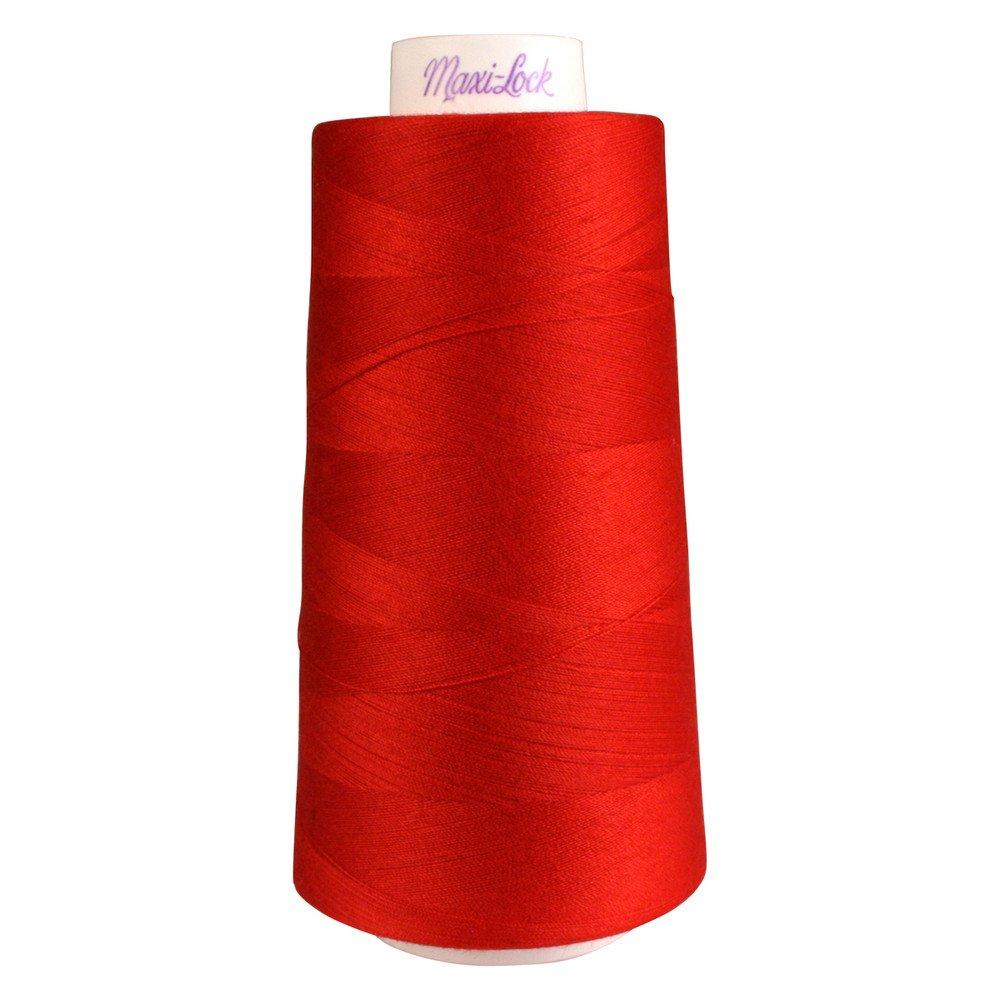 Maxi- Lock Thread #45136 Poppy Red