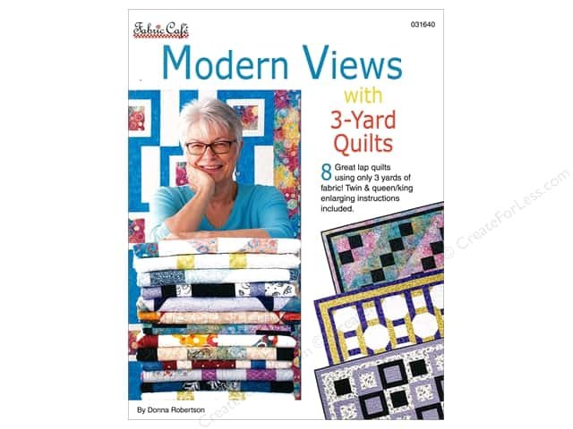 Modern Views  3-Yard Quilts from Fabric Cafe