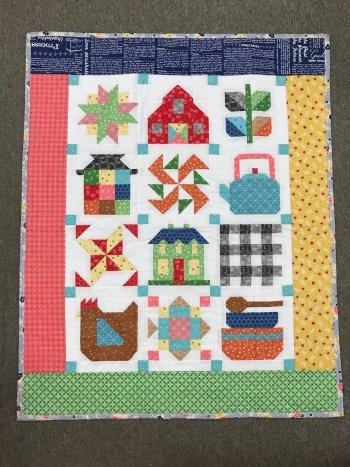 Saturday Sampler By Nancy George, Creekside Fabrics, NY