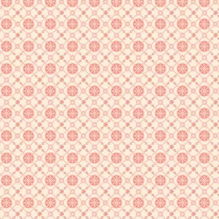 Lula Bijoux Tea Argyle #3013-4C 1 Cream/Tea Rose