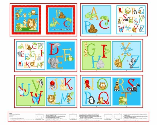 Little Readers #6478P 16 Letters Book