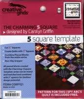 Creative Grids 5 Square Template