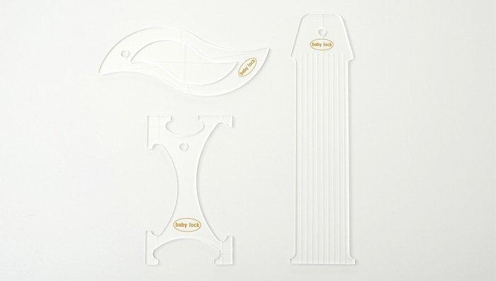 Baby Lock 1/4 Basic Ruler Kit