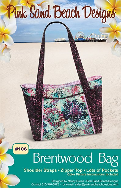 Brentwood Bag Pattern from Pink Sand Beach Designs