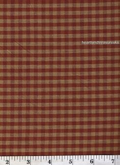 Dunroven  Homespun #H304 Red
