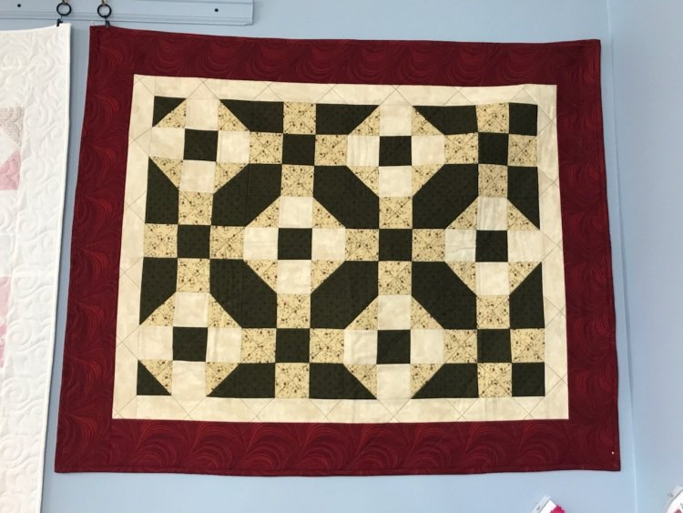 Q101 Beginner quilting class arcade, ny sept 2019
