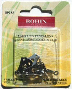 Bohn pant-skirt hook & eyes 89383